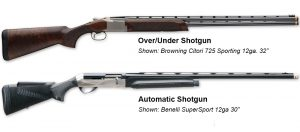 Sporting Clay Shotguns