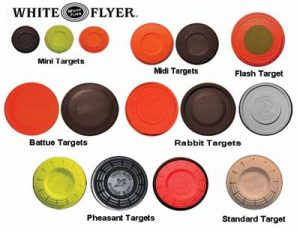 Sporting Clays Targets White Flyer